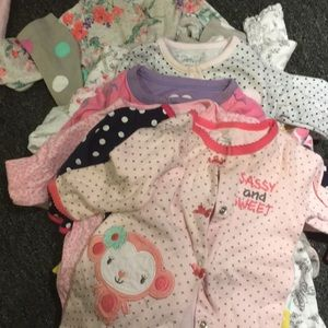 One Pieces - Baby girl pjs